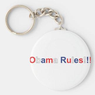 obama rules keychain
