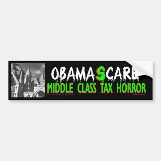 Obama (s)Care is a scary TAX bumper sticker