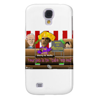 Obama Saves the Union Galaxy S4 Case