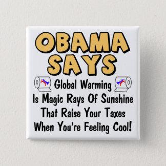 Obama Says Button
