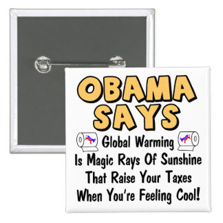 Obama Says Pinback Buttons