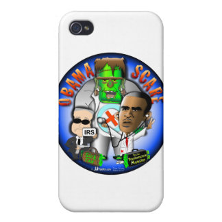 Obama Scare Cover For iPhone 4