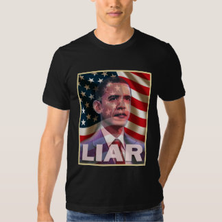 Obama scares me - He is a liar Tees