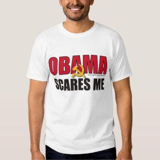 Obama scares me shirt