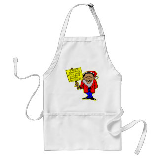 Obama Scrooge You Cannot Have More Freedom Adult Apron