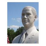 Obama Sculpture Postcard