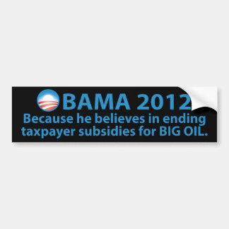 Obama se coloca fuerte contra las compañías pegatina para auto