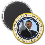 Obama Seal Blue 2 Inch Round Magnet