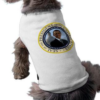 Obama Seal Blue Doggie Tee