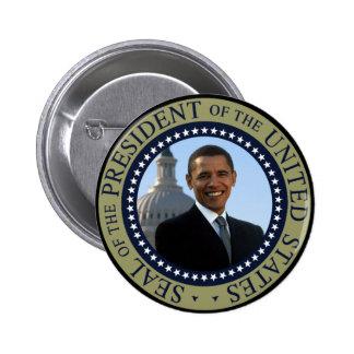 Obama Seal Gold Pin