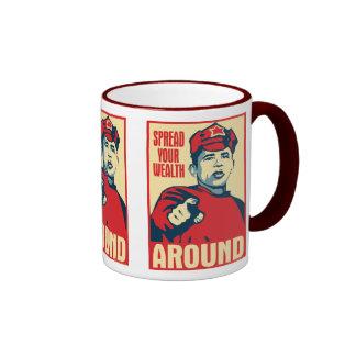 Obama - separe su riqueza alrededor Taza de OHP
