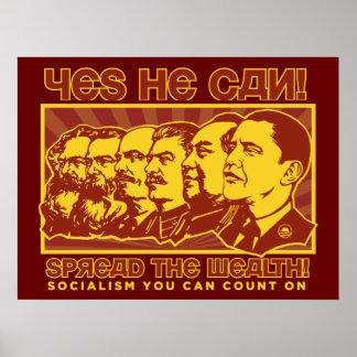Obama separó el poster de la riqueza
