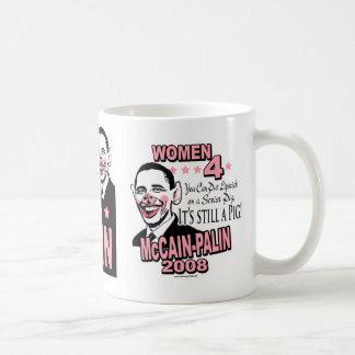 Obama Sexist Pig Gear Classic White Coffee Mug