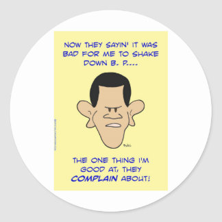 obama shake down shakedown stickers