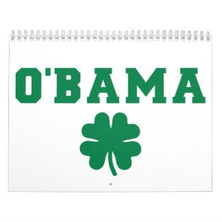 O'bama shamrock calendar