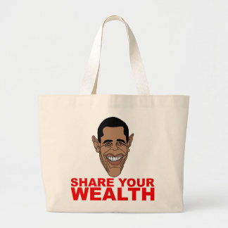Obama: Share your wealth Canvas Bag