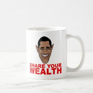 Obama: Share your wealth Mugs