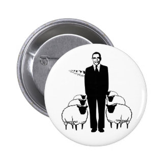Obama Sheep Buttons