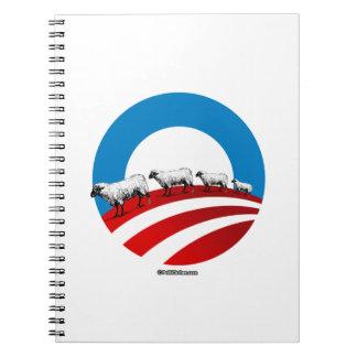 Obama Sheep Notebooks