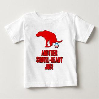 Obama Shovel Ready Job Baby T-Shirt