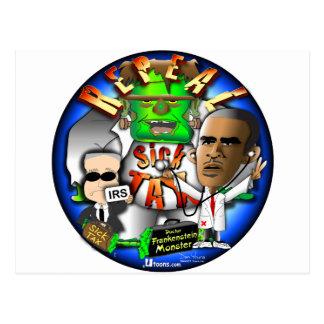 Obama Sick Tax Postcard