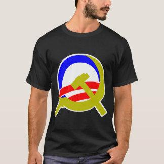 Obama Sickle and Hammer Dark T-shirt