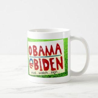 Obama Sign Watch Mug