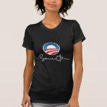 Obama Signatue Camisetas