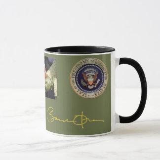 Obama Signature and Photo Mug