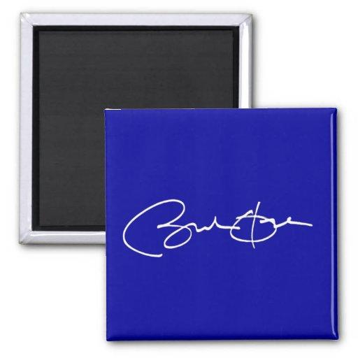 Obama Signature Fridge Magnet