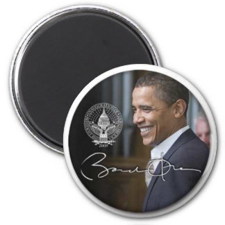 Obama signature Fridge magnet - Customized