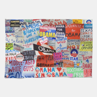 Obama Signs of Hope Kitchen Towels