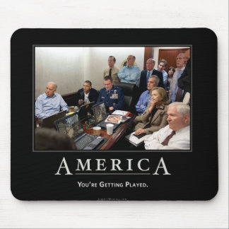 Obama Situation Room Demotivational Mouspad Mouse Pad