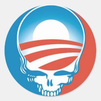 Obama Skull Sticker