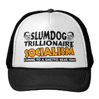 Obama: Slumdog Trillionaire Gorro De Camionero