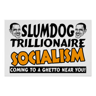 Obama Slumdog Trillionaire Impresiones