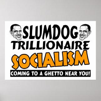 Obama: Slumdog Trillionaire Print