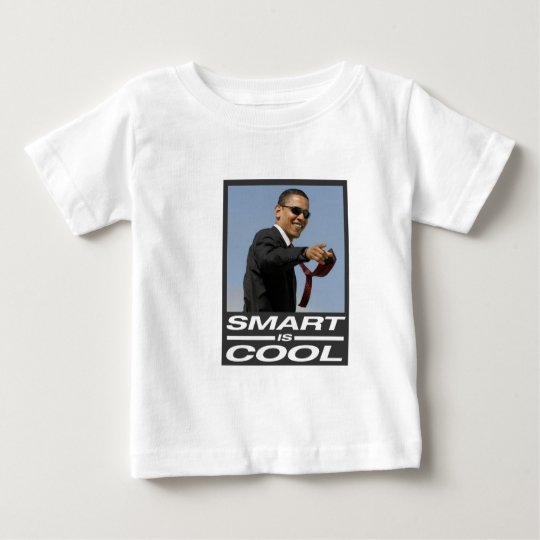 Obama smart is cool baby T-Shirt