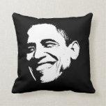 Obama Smile Stencil Side Pillow
