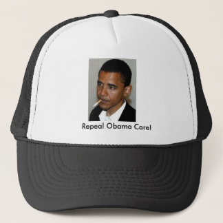 obama_smoking, Repeal Obama Care! Trucker Hat