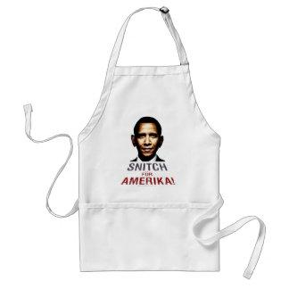 Obama Snitch Adult Apron