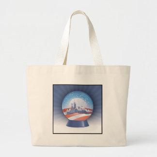 obama snow globe bag