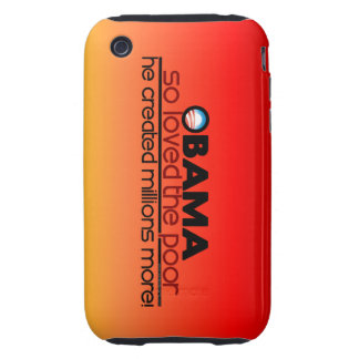 Obama So Loved The Poor Tough iPhone 3 Covers