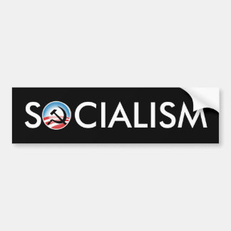 Obama Socialism Car Bumper Sticker