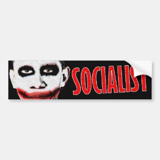 Obama Socialist Car Bumper Sticker