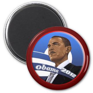 Obama sofisticado con clase fresco 2012 imán de frigorífico