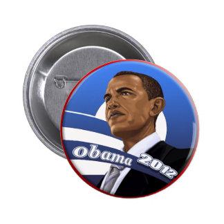 Obama sofisticado con clase fresco 2012 pins