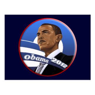 Obama sofisticado con clase fresco 2012 postal