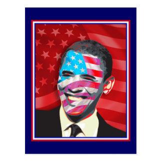 obama - sonrisa presidencial tarjetas postales