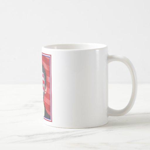 obama - sonrisa presidencial tazas de café